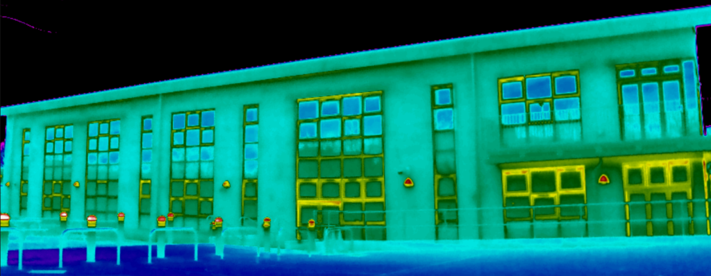 Level 2 Scantherm BREEAM thermographic survey