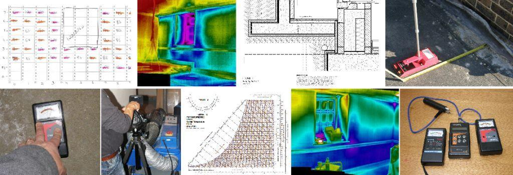 leak tracing using thermal imaging