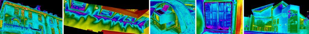 infrared thermal imaging heat loss survey