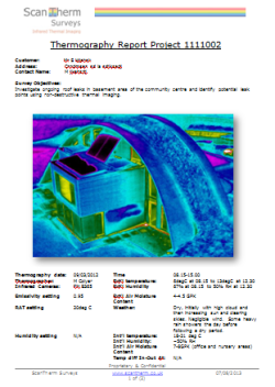 Passivhaus Thermography Survey