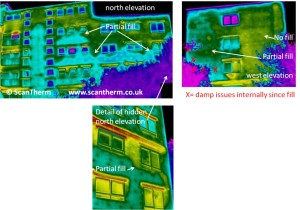 thermographic damp survey cavity insulation