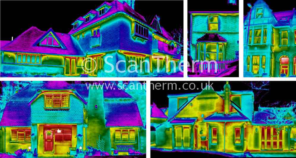 home heat loss survey using thermal imaging