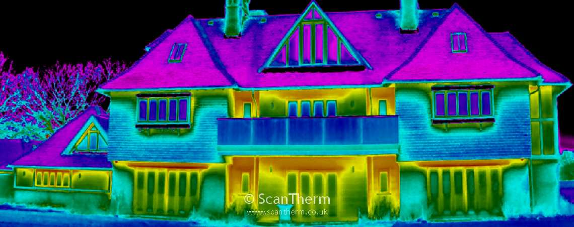 Thermal Imaging Heat Loss Surveys - Residential & Commercial