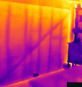Structural investigation using thermography