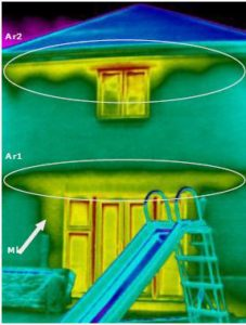 HQM thermographic survey continuity of insulation